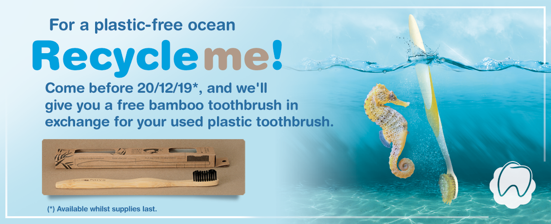 FOR A PLASTIC-FREE OCEAN. #RECYCLEME